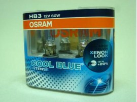 Лампы Osram HВ3/9005 12V 60W COOL BLUE INTENSE (2шт)