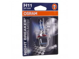 Лампа Osram H11 12V 55W NIGHT BREAKER PLUS UNLIMITED+110% (блистер, 1шт)